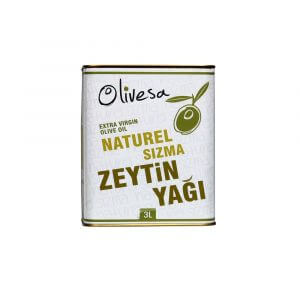 Olivesa Naturel Sızma Zeytinyağı 3 litre
